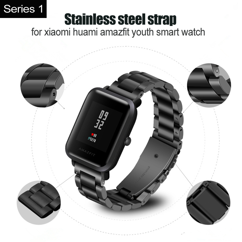 amazfit strap steel  (1)