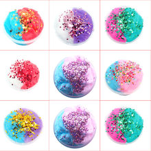 Transer 2019 TOP Color Squishies Clay Mud Mixing Cloud Slime Putty Scented Stress Kids Clay Toy 12.19(China)