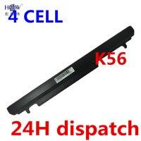 HSW 2600mah Laptop Battery For Asus A56 A46 K56 K56C K56CA K56CM K46 K46C K46CA K46CM