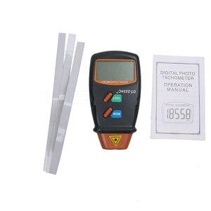 Image 5 - Kebidumei חדש כף יד ללא מגע לייזר תמונה טכומטר באיכות גבוהה דיגיטלי RPM Tach לייזר Tachometer מהירות מד