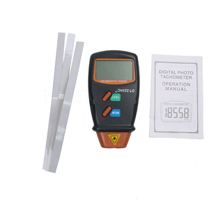 Image 5 - kebidumei New Handheld Non Contact Laser Photo Tachometer High Quality Digital RPM Tach Laser Tachometer Speed Gauge