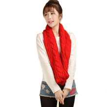 Winter Warm Knitted Scarf For Women