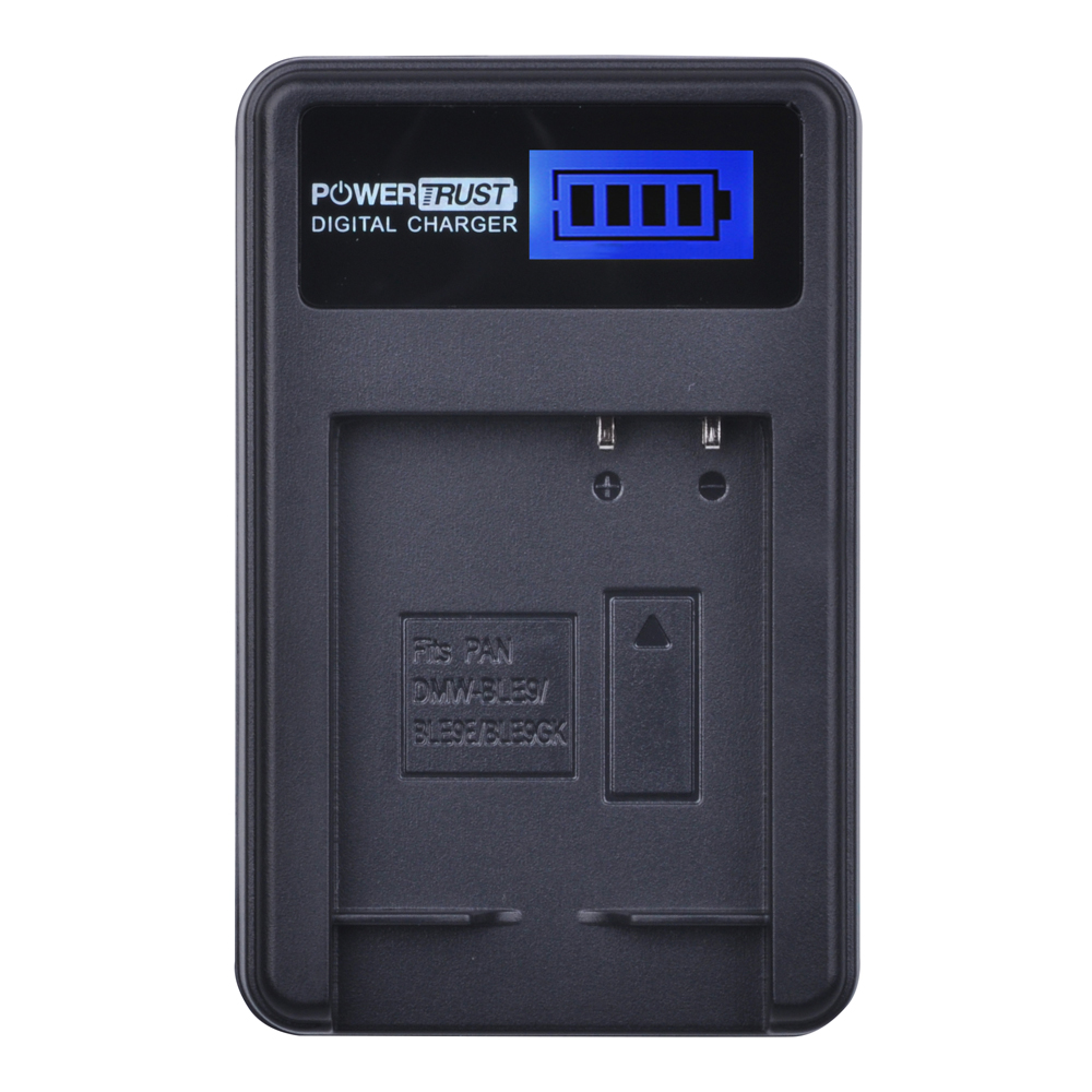 1x DMW-BLG10 DMW BLG10 DMW-BLE9 BLE9 BLE9E LCD Rapid USB Charger for Panasonic Lumix DMC GF6 GX7 GF3 GF5 GX80 BLG10 Battery