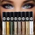 Profissional Shimmer Eyeshadow Glitter Brilhante Bronzer Pigmento Da Sombra de Olho À Prova D' Água Nu Maquiagem Chique Olho Maquiagem 8 Cores