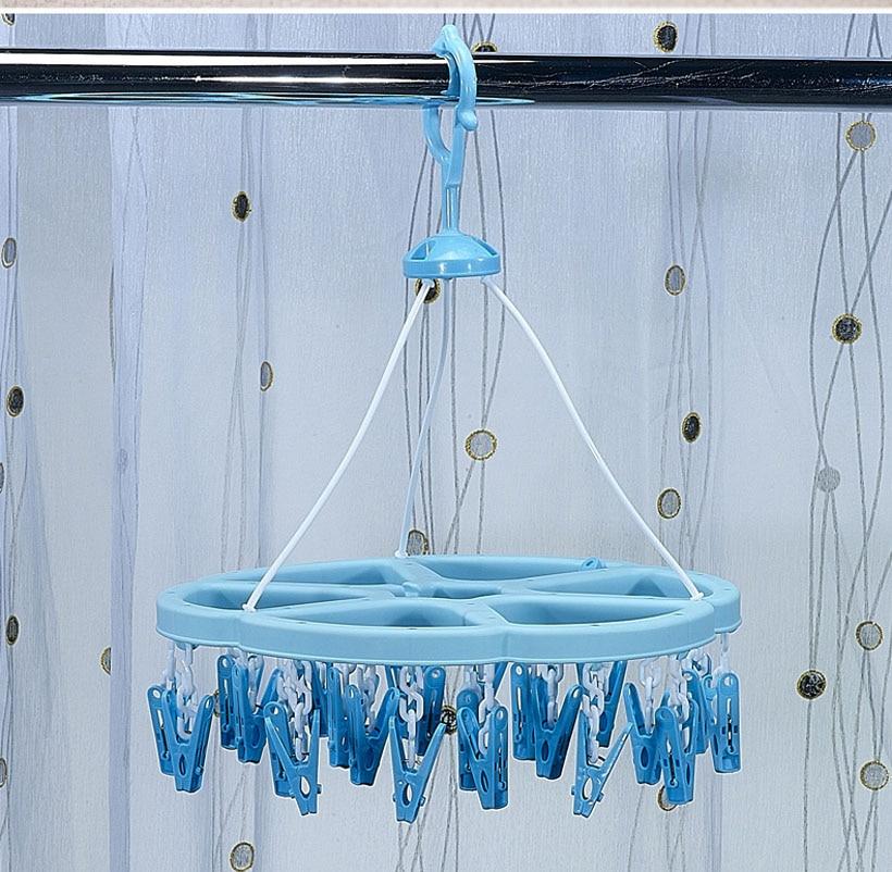 Multifunctionele hanger Camelias kledingrekken plastic cirkel sokken - Home opslag en organisatie
