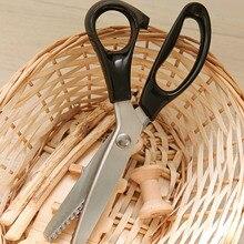 Новая нержавеющая Pro Zig Zag Pinking швейная резка портновские ножницы G08 большое значение 4 апреля