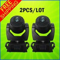 2PCS A Lot 2016 New Pro Light DMX 120W LED Moving Head Spot Gobo Projector Light
