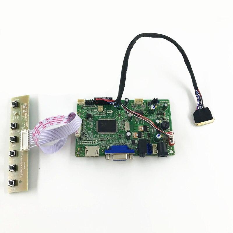RTD2668 universel HDMI VGA Audio LCD carte contrôleur pour 11.6 pouces 1366x768 B116XW03 40 broches moniteur LED réparation bricolage