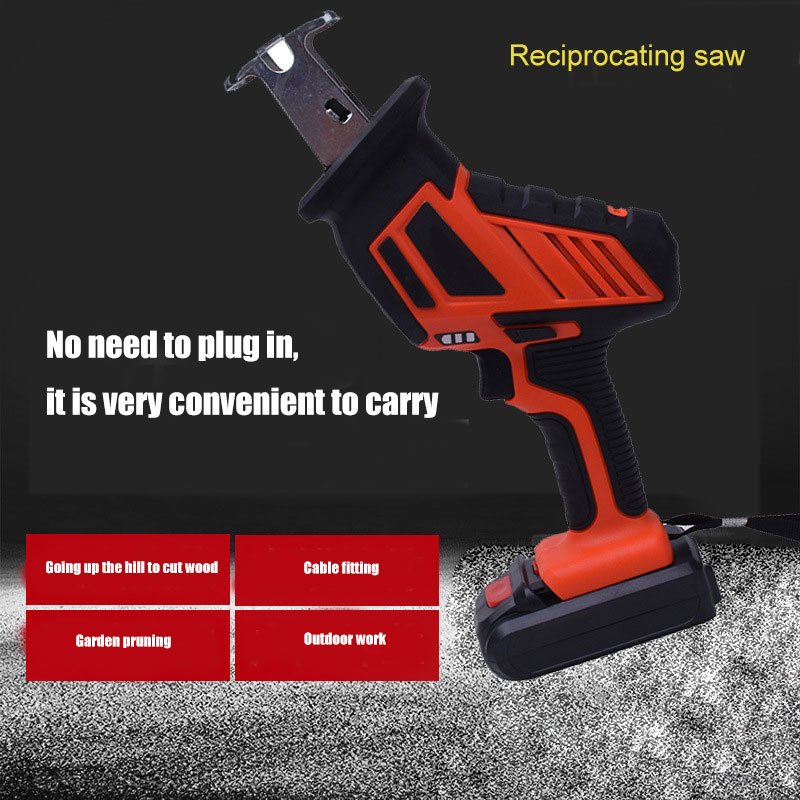 Cordless 1-Handed Reciprocating Saw Chargeable Small Reciprocating Saw Woodworking MDJ998