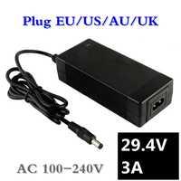 29.4v3a lithium-batterie ladegerät 7 Serie 29,4 V 3A ladegerät für 24V batterie pack, elektrische fahrrad lithium-batterie ladegerät