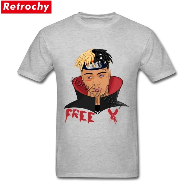 52db8a2e184063 Männer Xxxtentacion T Freies X männer T-shirts musik thema zone natürliche  Shirts für Erwachsene