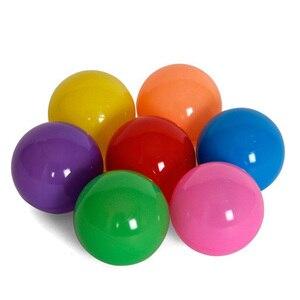Image 5 - 200 pz/borsa giocattolo per bambini palle colorate in plastica morbida Ocean Ball Eco Friendly piscina di acqua Ocean Wave Ball Pit giocattoli per bambino diametro 5.5cm