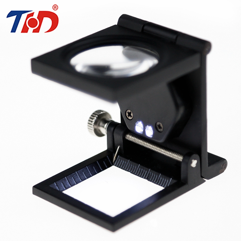 THD Multiple 20X LED Illuminating Magnifier Metal Magnifying Glass Desk Table Reading Lamp Light with Clamp high quality magnifying glass led light lamp desk magnifying led table light magnifier jdh99