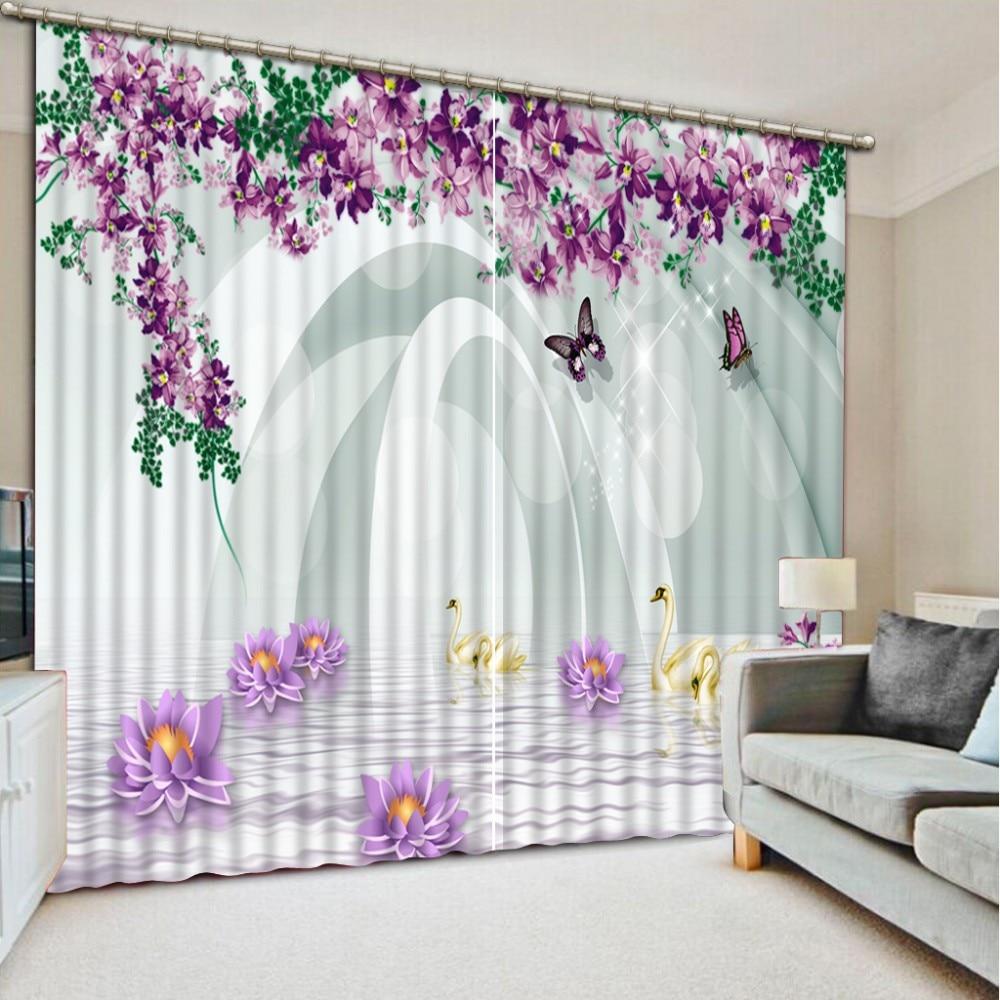 Aliexpress.com : Buy Luxury Blackout 3D Window Curtains