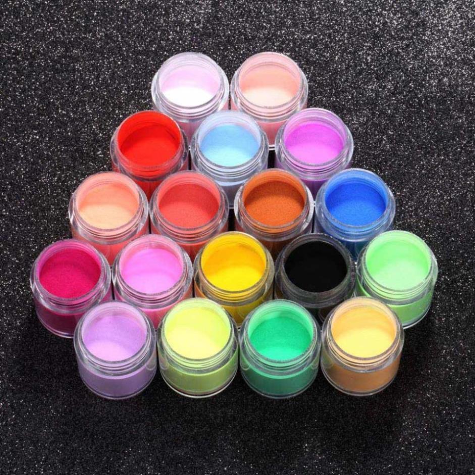 18 Pcs Decorate Manicure Powder Acrylic UV Polish Kit Nail