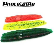 5 Pcs/lot  paddle Tail 12.5mm 6.5g soft Grubs Maggot Plastic Fishing Lure Soft Baits Jig Head Texas Rig bass fishing YR-336