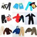 3 jogos/lote boneca de roupas bola / inverno lazer / uniforme de combate / roupa para Barbie Boy Ken boneca