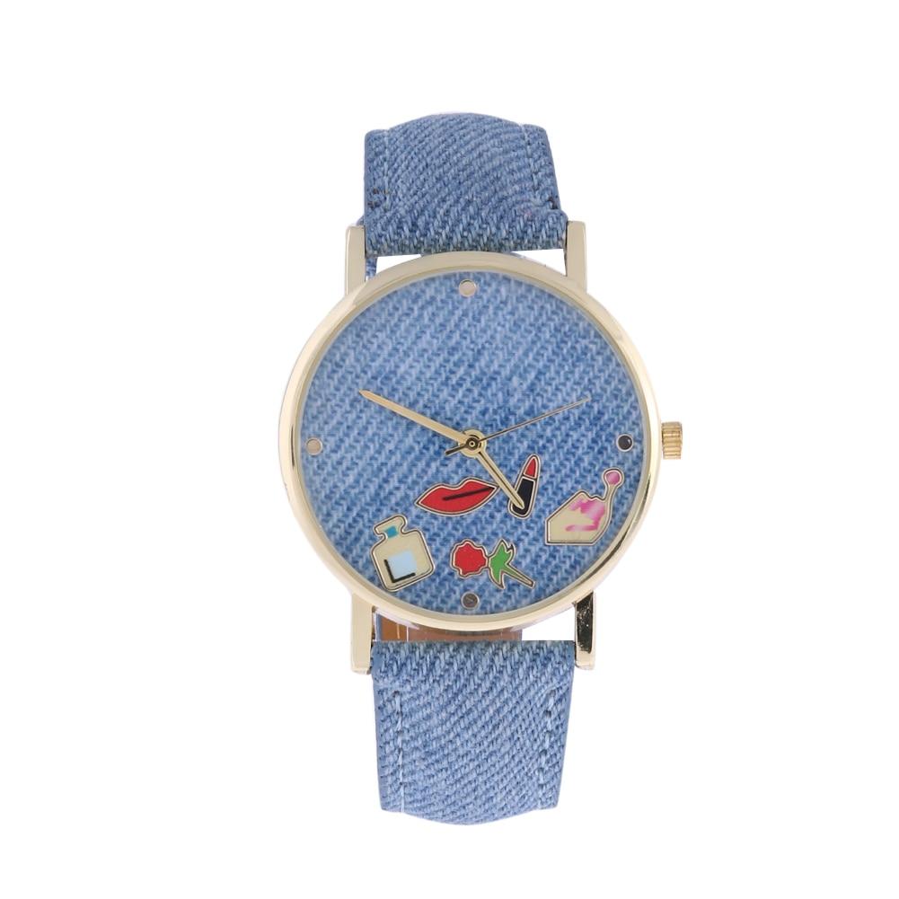 Fashion Girl font b Watches b font 2017 Quartz font b Watch b font Denim Belt