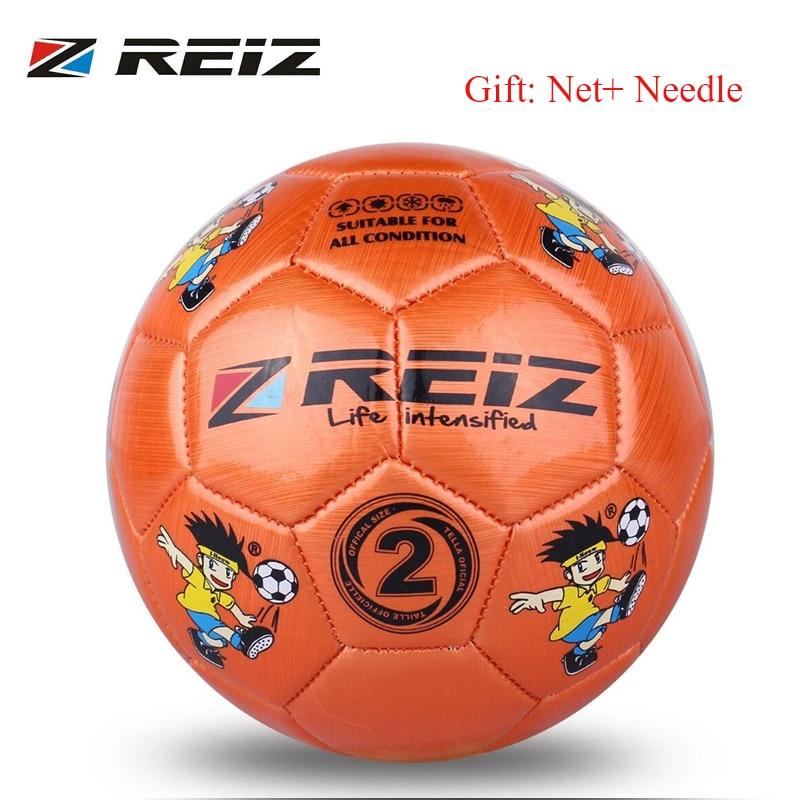 REIZ 14CM Circumference Kindergarten Kids Children Football Training Balls Anti-Slip Training Football Soccer Ball dropshipping