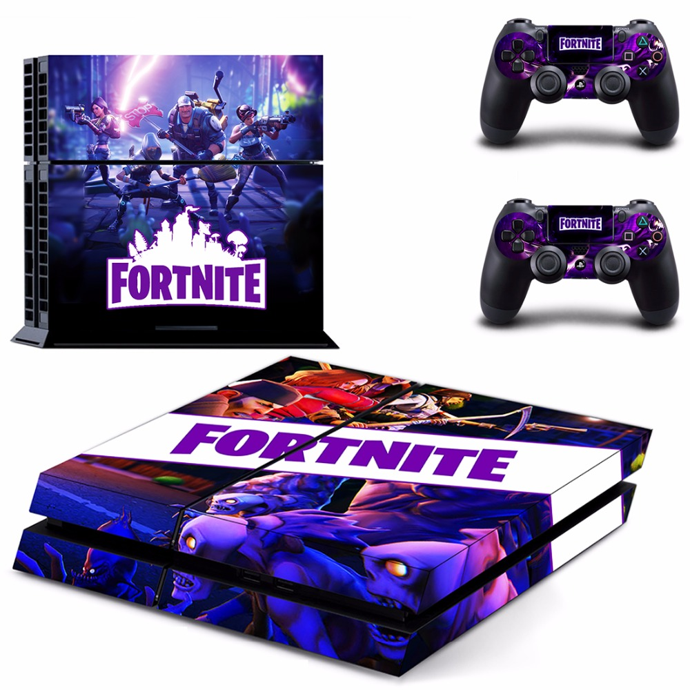 Game Fortnite Battle Royale PS4 Skin Sticker Decal For Sony