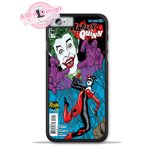 Joker Harlei Quinn Comics Retro Phone Cover Case For Apple iPhone X 8 7 6 6s Plus 5 5s SE 5c 4 4s For iPod Touch