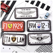 Retro Car Plate Phone Case iPhone 6 6S Plus 7 7Plus