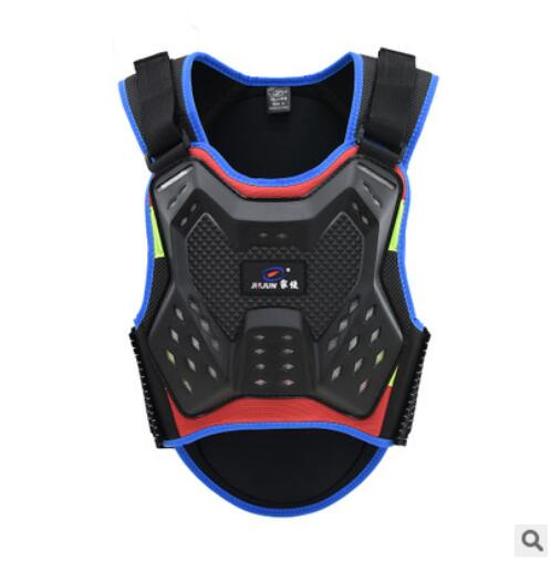 Children's Armor Jacket Armored Girder Chest Protection Equipment Motocross Enfant Motorcycle Gear Motos Kids Vest Body