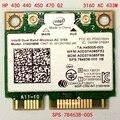 SSEA новый для Intel Dual Band Wireless AC 3160 3160HMW половина мини PCI-E wi-fi Bluetooth 4.0 Беспроводная Карта для HP SPS 784638-005