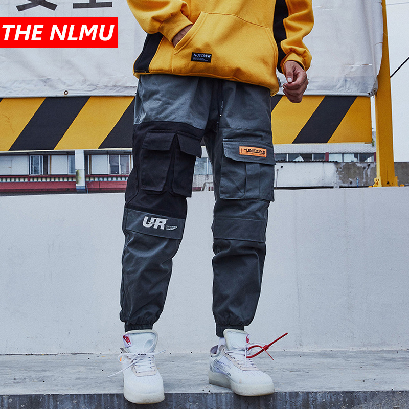 2019 Mens Hip Hop Cargo Pants Pockets Vintage Tatical Pant Joggers Men Streetwear Casual Harem Pants Military Trousers WG122-in Cargo Pants from Men's Clothing on AliExpress - 11.11_Double 11_Singles' Day 1