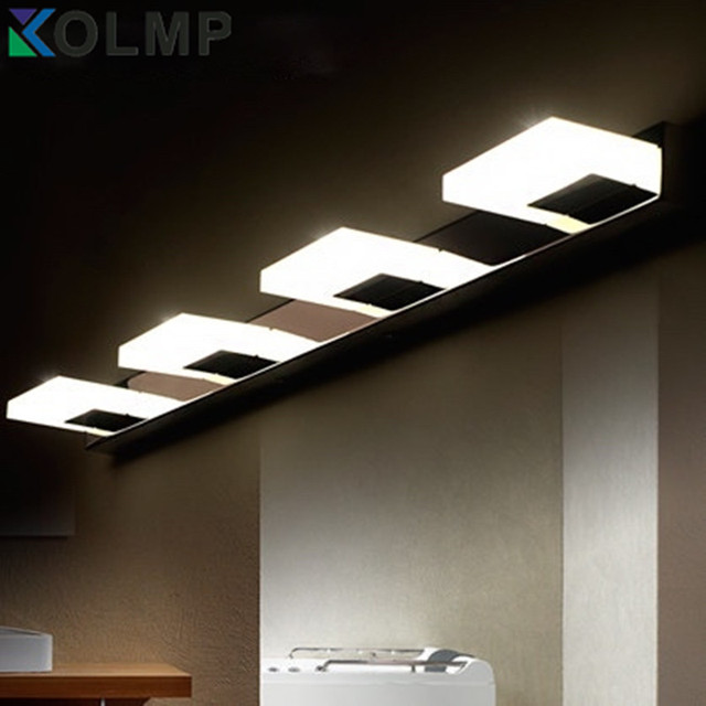 Modern Fashion Stainless Steel Bathroom Light Fixtures Led Bathroom - Stainless steel bathroom light fixtures