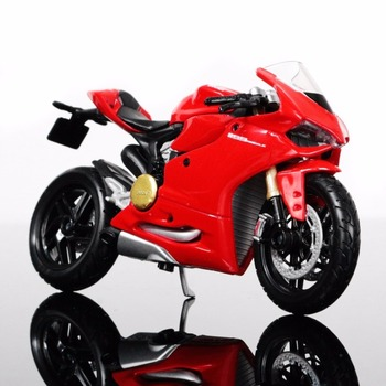 1:18 DUCATI 1199 Panigale Motorcycle Model Decoration Motorcycle Model  Childrens Gift Free Shipping