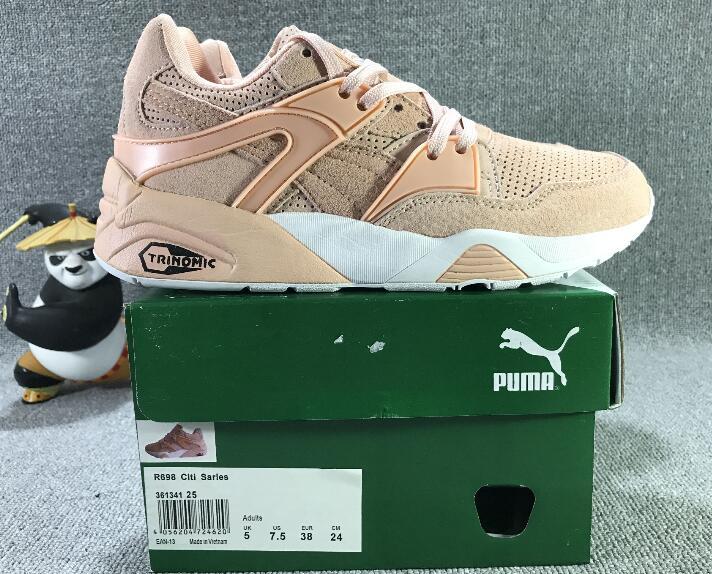 Original New Arrival PUMA Trinomic Blaze Women's shoes Breathable Sneakers Badminton Shoes size36 39