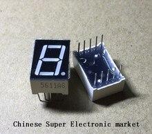 """100 יחידות LD 5161AG 1 ספרות 0.56 """"ירוק 7 מגזר LED"""