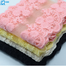 11cm wide soft lace Chiffon yarn ribbon DIY accessories  hand made yarns 2yards/lot