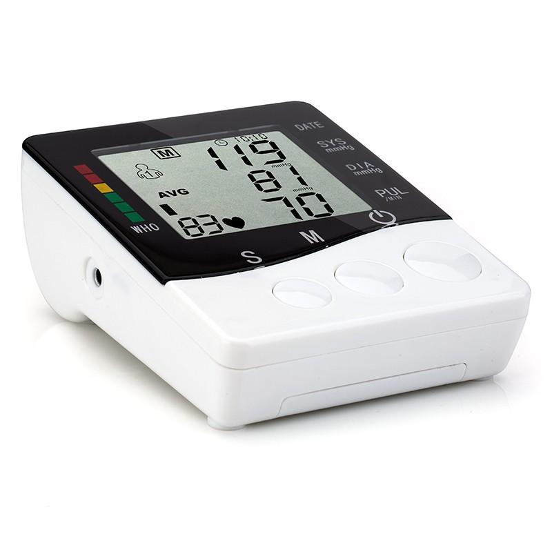 Household Health Care Automatic Digital Arm Blood Pressure Monitor Meter Blood Pressure Measurement Monitor Sphygmomanometer 11