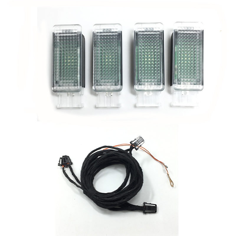 1 Set OEM D'origine LED Footwell Lumière Pour Golf 6 Golf 7 Jetta MK5 MK6 Tiguan Passat B6 5GG 947 409 5GG947409 5GG-947-409