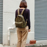 [B 039] DIY handmade brand style backpack shoulder bag travel bag's pattern DIY Leather Bag Drawing