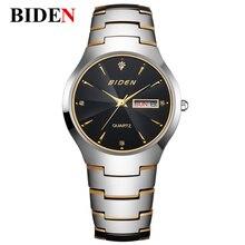 2016 Frauen BIDEN armbanduhr reloj resistente al agua de Cuarzo Analógico Relogio Feminino Marca de Lujo Relogio masculino Reloj Hombre Mujer