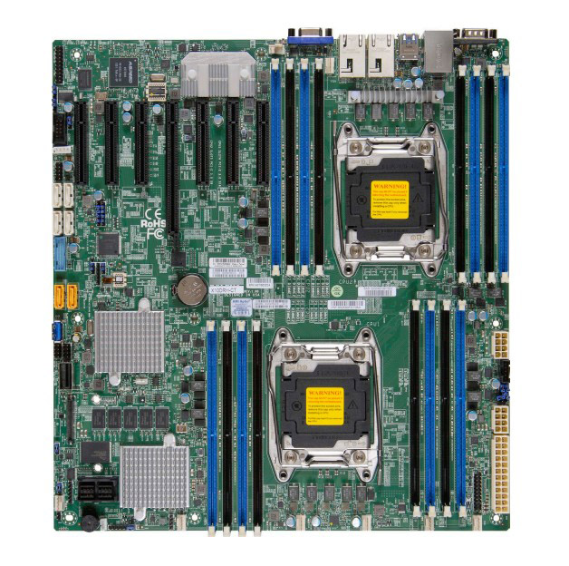 OEM X10DRH-C Integrated LSI3108E5 Dual 2011 Pin C612SAS3 Server Motherboard