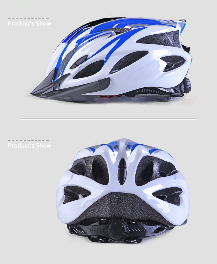 220g Ultralight Bicycle Helmet CE Certification Cycling Helmet In-mold Bike Safety Helmet Casco Ciclismo 56-62 CM-4