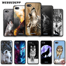 WEBBEDEPP Wolf Collage art Soft Phone Case for Redmi