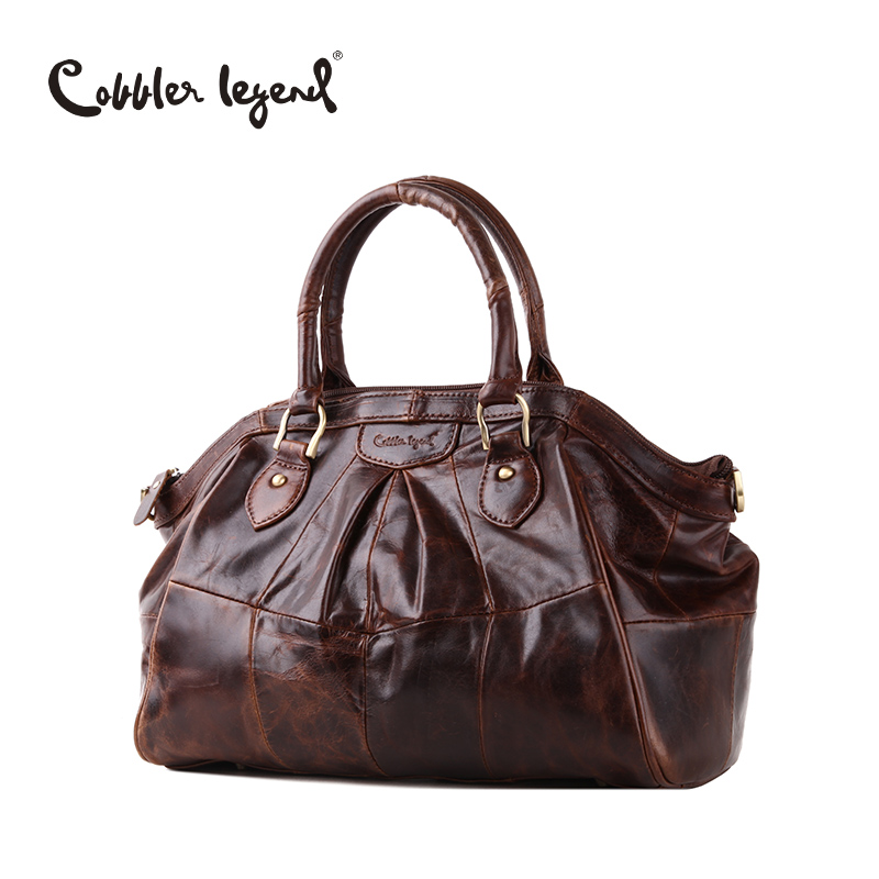 Cobbler Legend Brand Design Women's Handbags Shoulder Retro Genuine Leather 2017 New Arrival Women Messenger Bags Handbag 804217 cobbler legend 2015 messenger 100
