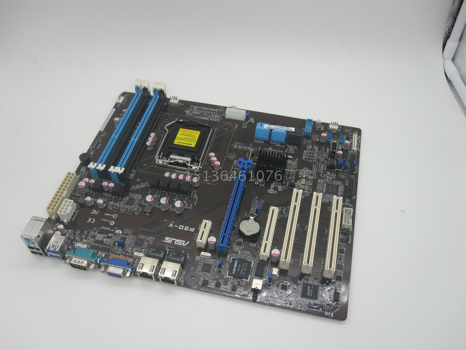 P9D-V server board supports E3-1230V3 1150 pin 4 SATA3 interface