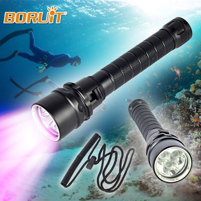 Ultraviolet 395-400nm Diving Light 3x XPE Linterna LED UV s