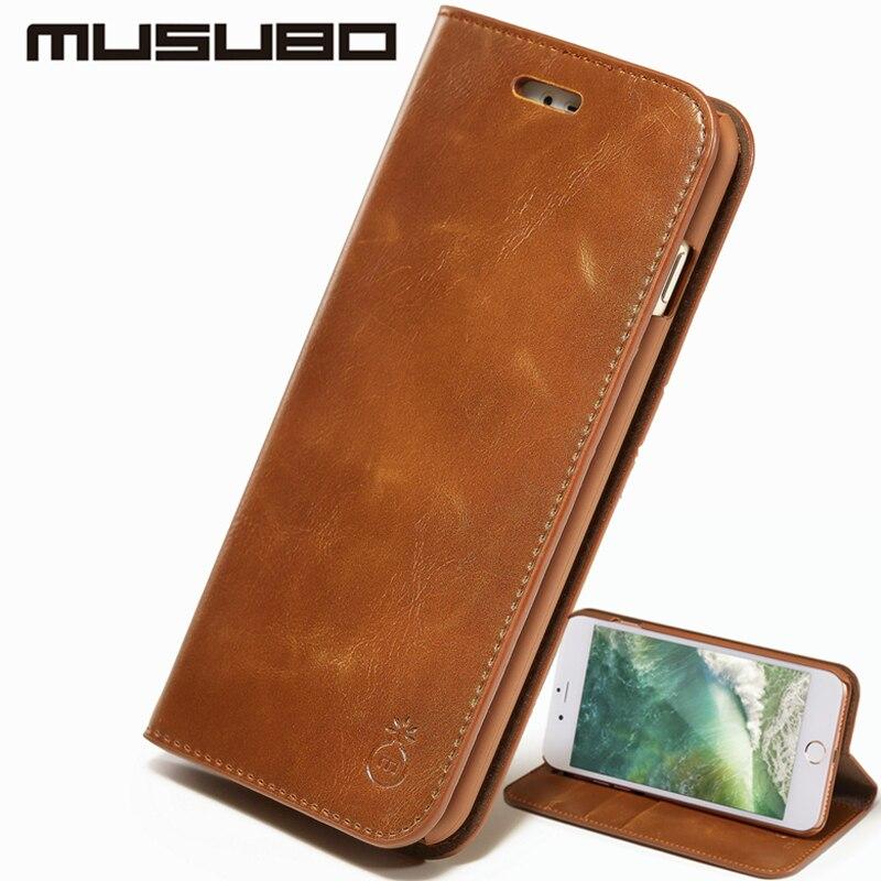 Musubo շքեղ կաշվե պատյան iPhone Xs Max 7 plus- ի - Բջջային հեռախոսի պարագաներ և պահեստամասեր - Լուսանկար 2