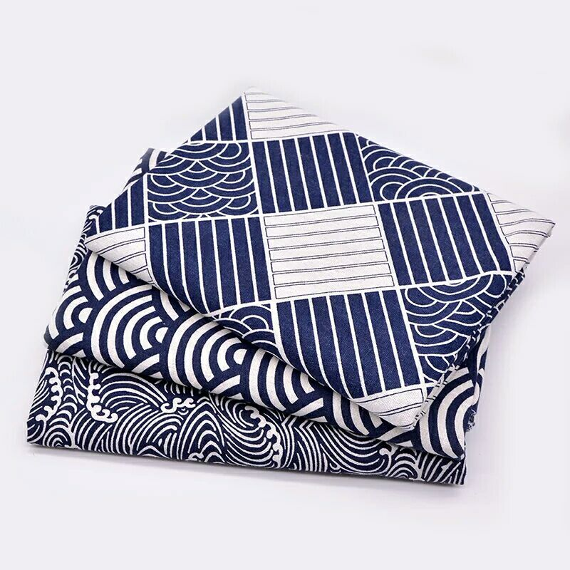 Japan Style Kitchen Accessories Decoration Cotton Cloth Dinner Cup Mats Pads Dining Table Placemats LX2082