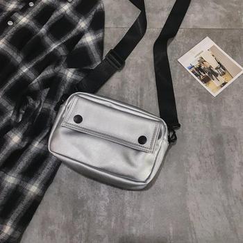 Messenger Bag Fashion Solid Color Girl Small Square Bag Simple Shoulder Bag 7