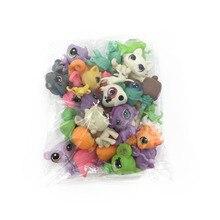 Poco Juguetes Littlest Pet Shop LPS 31 Unids/bolsa Animal lindo de la historieta Gato Perro Acción loose Figuras colección Los Niños juguetes De Niña regalo