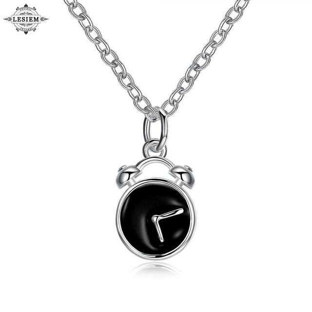 Lesiem online shopping india silver pendants for women black alarm lesiem online shopping india silver pendants for women black alarm clock watch pendant collane costume jewellery aloadofball Gallery
