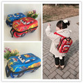 Cute 3D Cartoon Car Shape Kid Backpack Kindergarden Baby Boys School bag Children Water Proof Bag Wheel 2-8 Years Character Bags